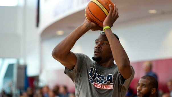 Basketball: 2015 USA Men's National Team Mini-Camp USA