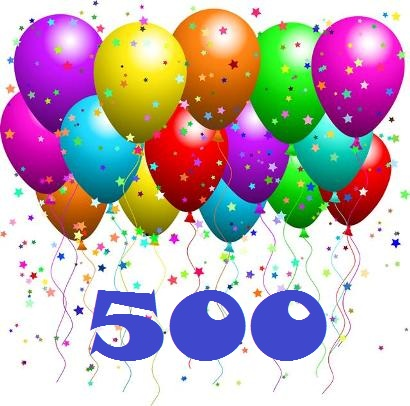 A Celebration of 500 posts!!! | The Heartbeat of the Queen of Hearts
